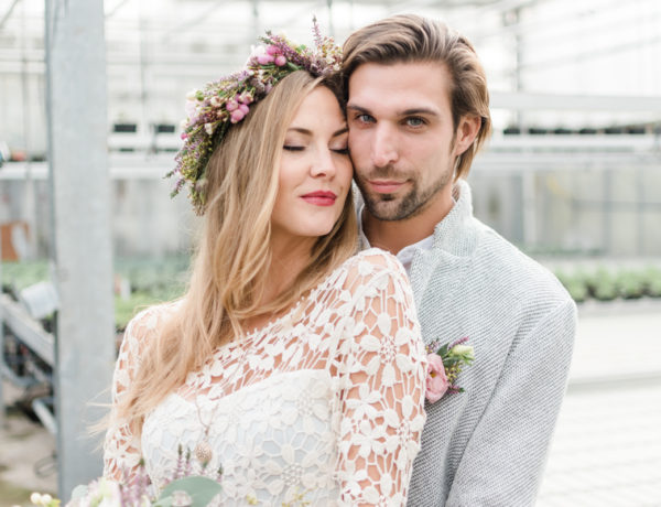 Hochzeit im Gewaechshaus Inspiration