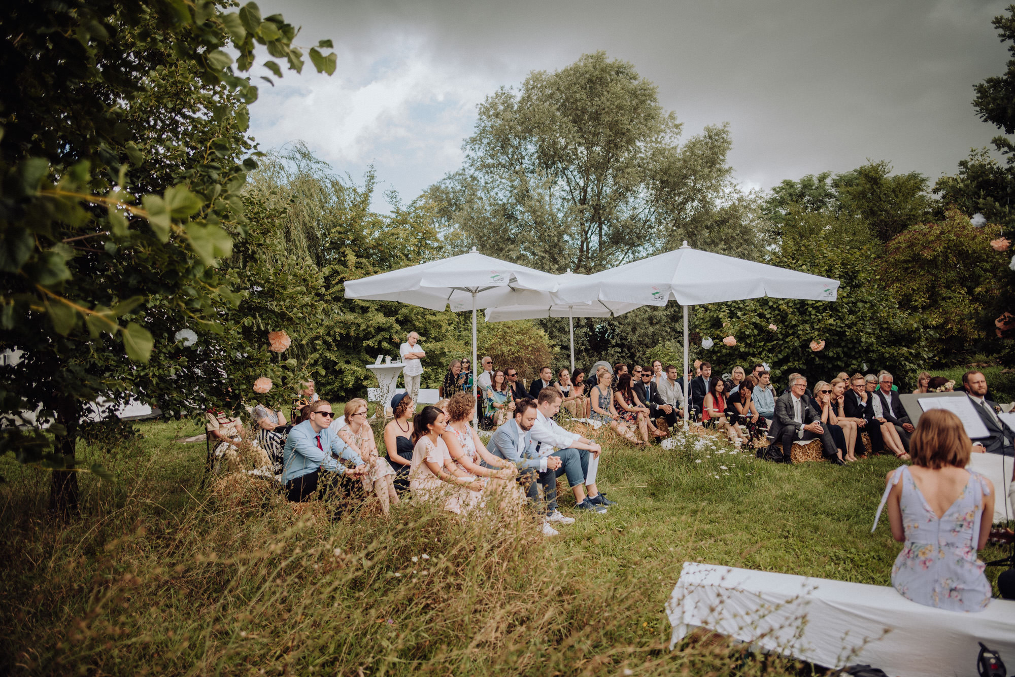 Garten Hochzeit in Ladenburg