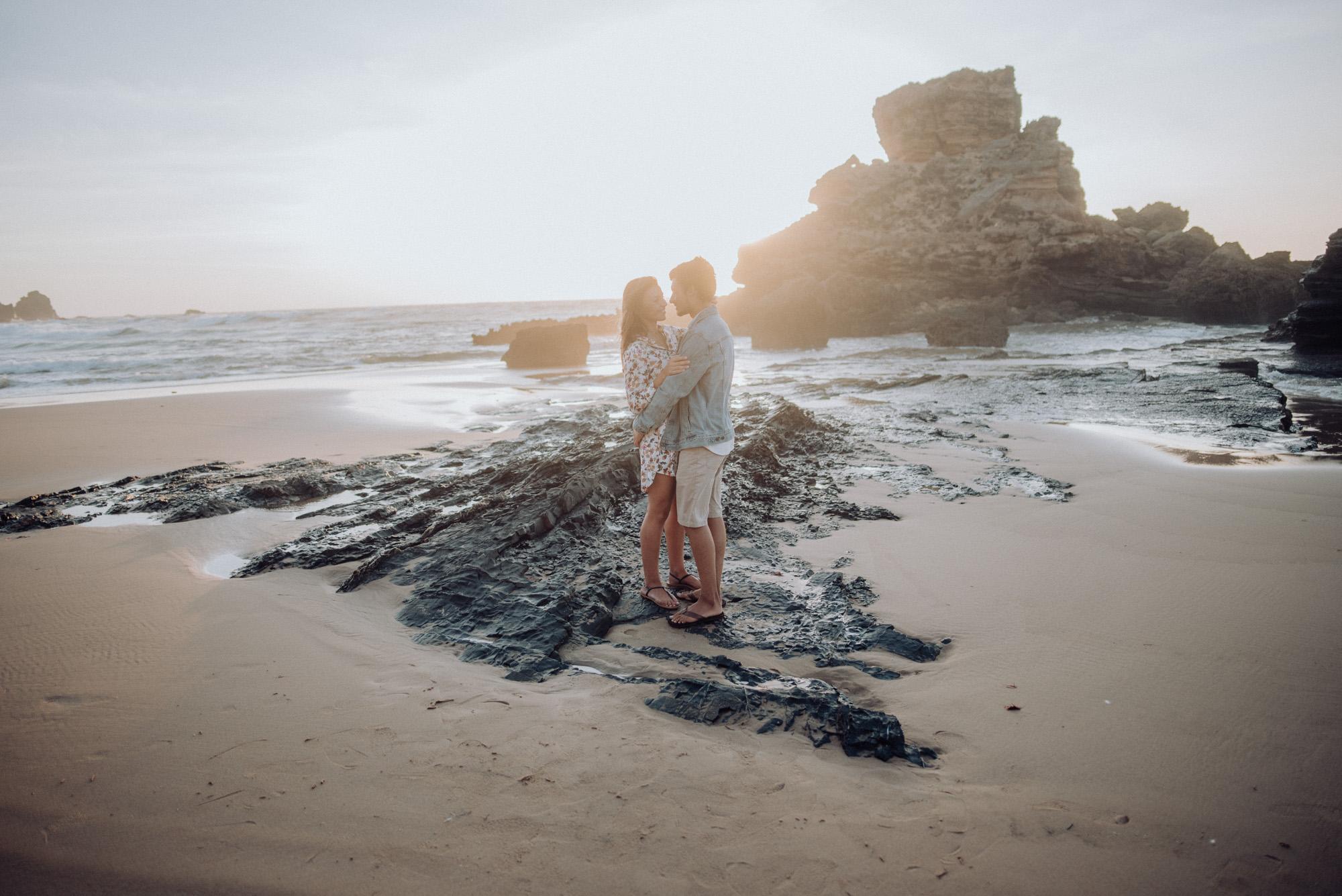Couple Shooting Algarve Photographer Portugal