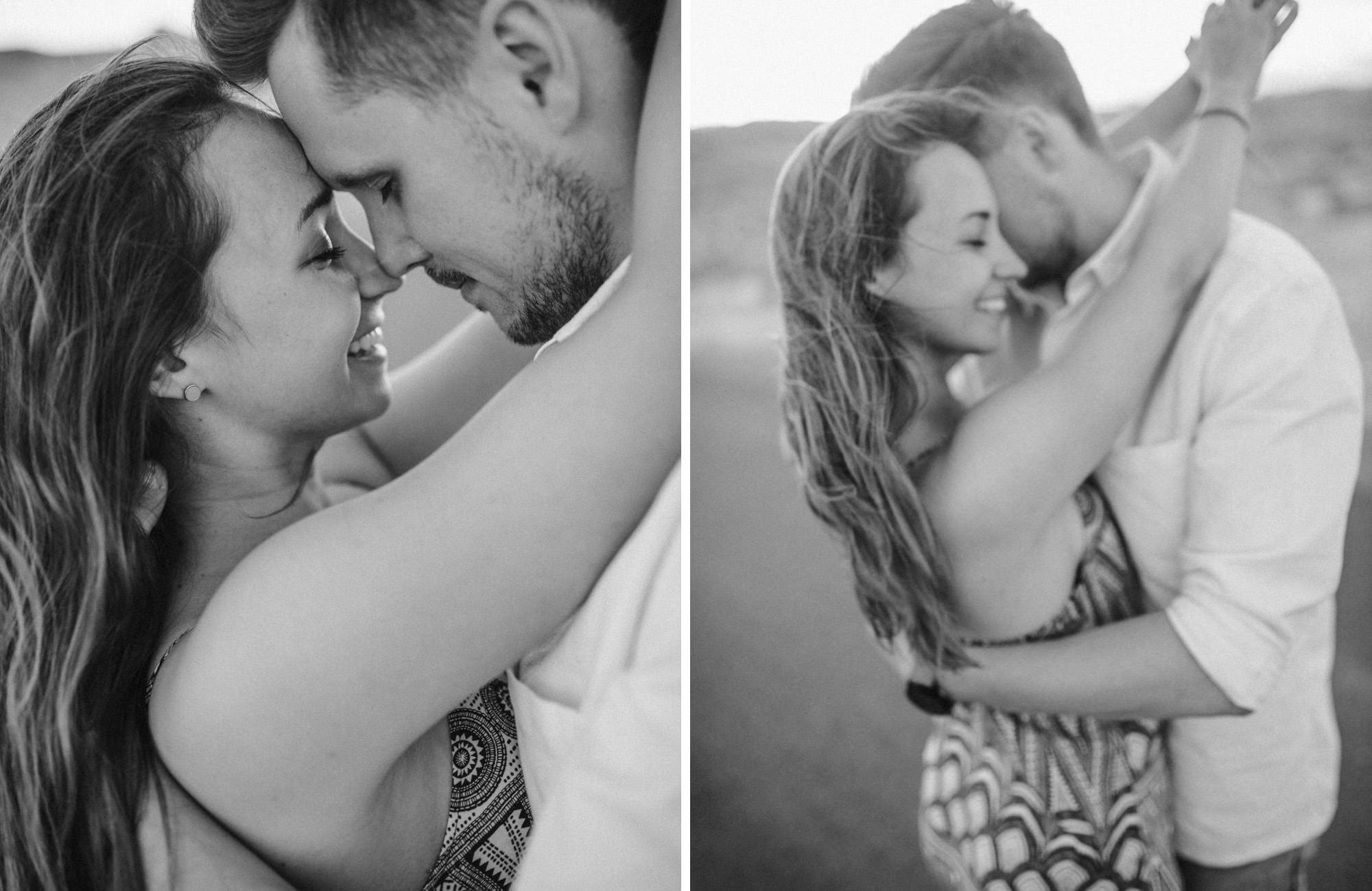 Adventurous Desert Couple Shoot