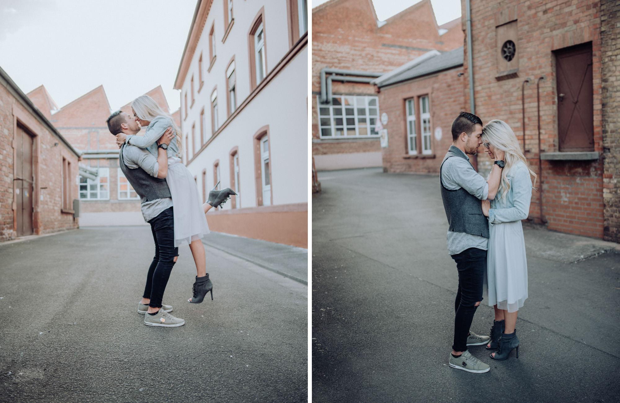 Couple Shooting Industrial Style Kaiserslautern