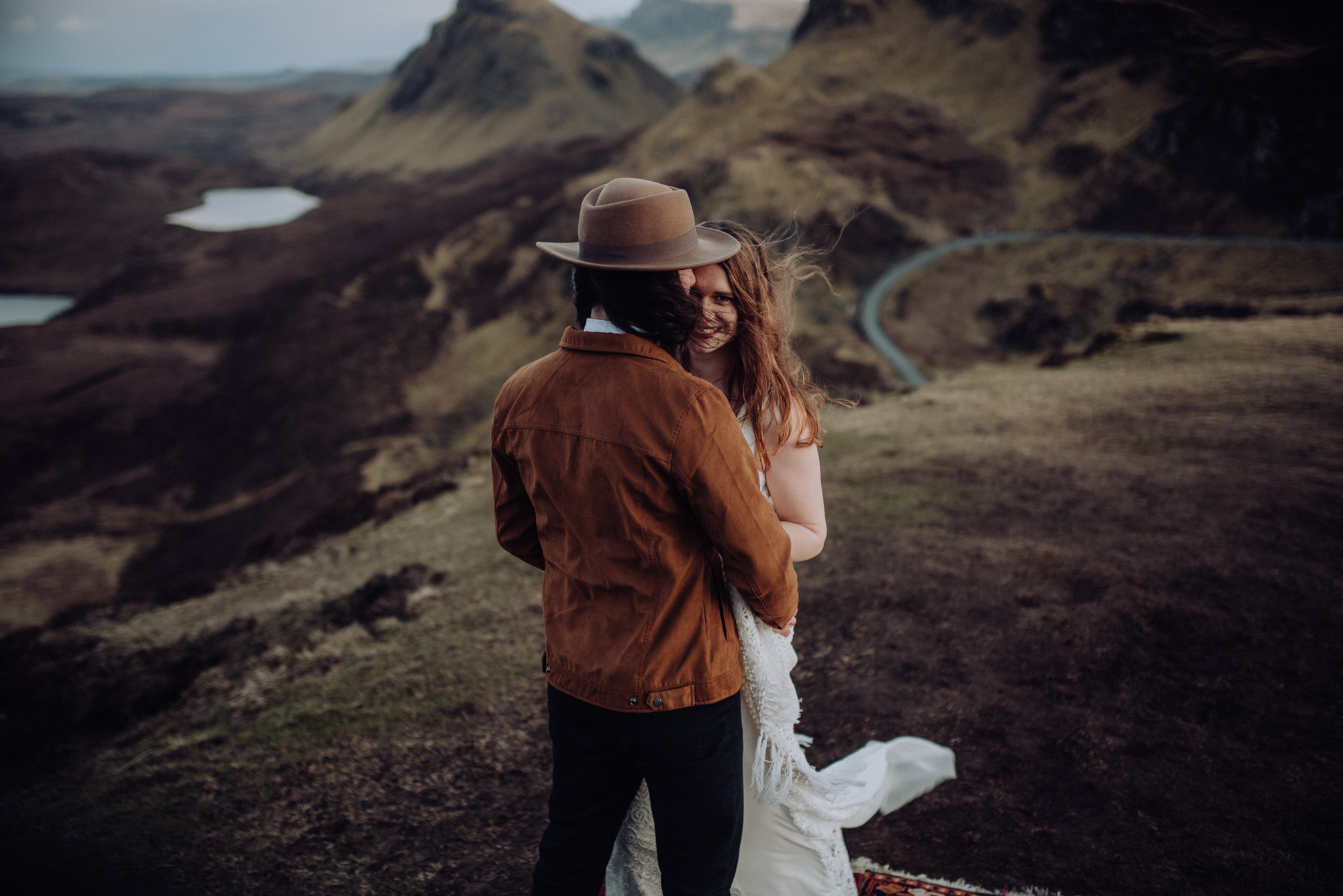 Elopement auf der Isle of Skye Schottland