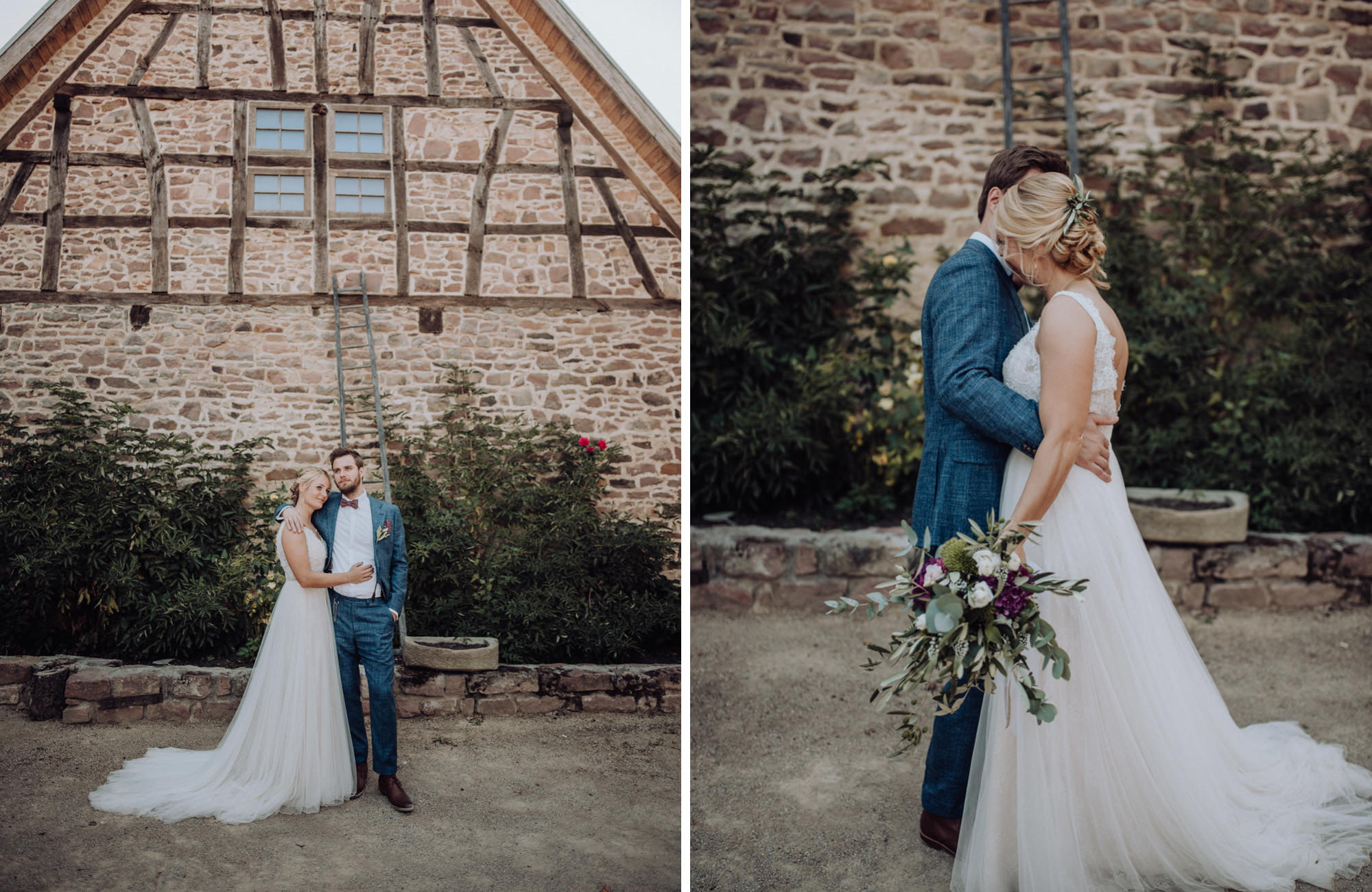 Hochzeit auf dem Landgut Lingental Heidelberg